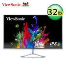 【ViewSonic 優派】32型 IPS 2K 無邊框寬螢幕 (VX3276-2K-MHD) 【買再送折疊收納購物袋】