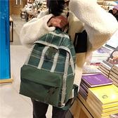 後背包 後背包女古著感少女書包 高中學生韓版大百搭日版超火ins