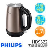 PHILIPS 飛利浦 HD9322 不鏽鋼煮水壺