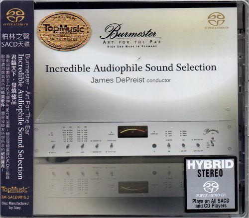 【停看聽音響唱片】【SACD】Incredible Audiophile Sound Selection:James DePreist conductor