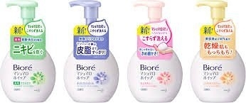 日本製【花王】Biore棉花糖泡沫洗面乳150ml