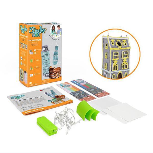 3Doodler Start 3D列印筆-建築師套件(不含筆)※台灣代理商※ ★絕對原廠★ 玩具公仔模型 創意DIY