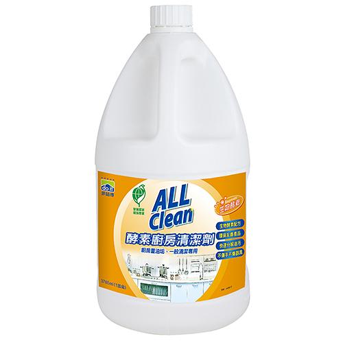 多益得All Clean酵素廚房清潔劑3785ml_贈噴頭一支/