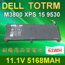 DELL 245RR 9芯 日系電芯 電池 Precision M3800 XPS 15 9530 0701WJ 701WJ 7D1WJ T0TRM Y758W 07D1WJ TOTRM OH76MV