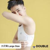 《Double束胸》AIRMAX 背網式束胸 排扣半身【D100】