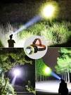 led頭燈強光充電頭戴式