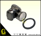 ES數位館 Canon SX30 SX40 SX50 SX60 專用 外徑 67mm 濾鏡轉接環 SX20 SX10 SX1 DC67A