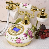 仿古電話機家用時尚創意歐式復古老式固定電話客廳辦公室座機 新品全館85折 YTL