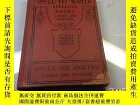 二手書博民逛書店the罕見spell to write spelling boo