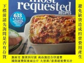 二手書博民逛書店most罕見requested RECIPESY15389