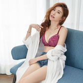 瑪登瑪朵-無鋼圈內衣  B-C罩杯(酷紫紅)