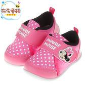 《布布童鞋》Disney迪士尼米妮經典桃紅色兒童休閒鞋(13~16公分) [ D7P033H ]