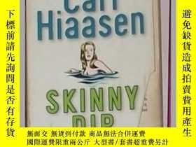 二手書博民逛書店英文原版罕見Skinny Dip by Carl Hiaasen