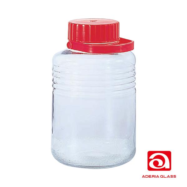 日本Aderia 梅酒玻璃罐 / 醃漬罐 (8L)