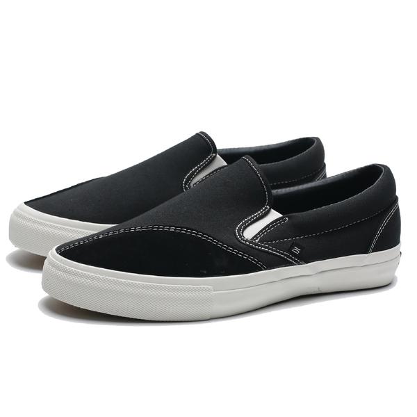 CLEARWEATHER DODDS 黑 帆布 麂皮 休閒 懶人鞋 滑板鞋 男 (布魯克林) CM028001