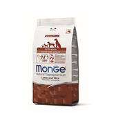 寵物家族-[買就送試吃包x3]MONGE瑪恩吉-天然呵護幼犬(羊肉+米)2.5kg