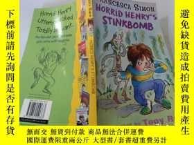 二手書博民逛書店Horrid罕見Henry s Stinkbomb : 可怕的亨利的臭炸彈。Y200392