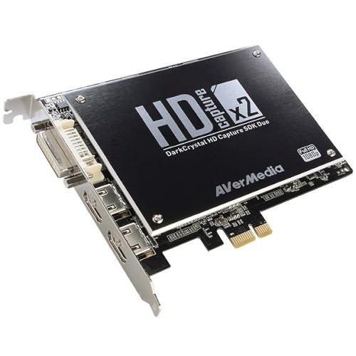 (客訂商品,請來電詢問) AverMeida 圓剛DarkCrystal HD Capture SDK Duo 四合一 影像擷取卡 C129