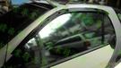 【一吉】98-02年 賓士W450 Smart (單一窗) 外銷日本、原廠型 晴雨窗(W450晴雨窗,W450 晴雨窗