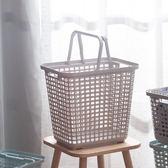 Clean多功能汙衣籃L-簡約灰-生活工場