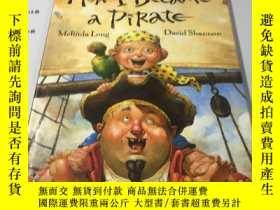 二手書博民逛書店英文原版漫畫:How罕見I Became a Pirate 我怎
