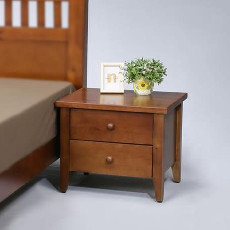 【班尼斯國際名床】天然100%全實木床頭櫃