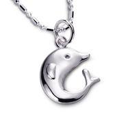 KISS KISS 幸福旅行者 – 海豚純銀項鍊