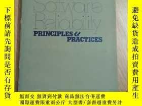 二手書博民逛書店Software罕見Reliability Principles and Practices(京)Y17993
