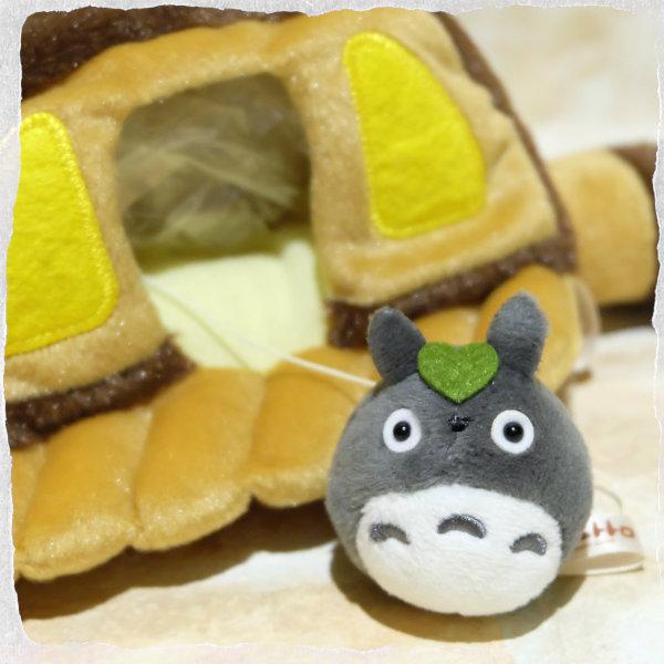龍貓 龍貓公車 絨毛玩偶 娃娃 S號 宮崎駿 TOTORO 日本正版 該該貝比日本精品 ☆