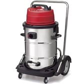SANCOS 3238W 工業用乾溼二用不繡鋼 雙層馬達 吸塵器【中部家電生活美學館】