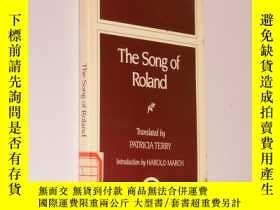 二手書博民逛書店The罕見Song of Roland 英文原版《羅蘭之歌》Y2