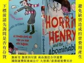 二手書博民逛書店HORRID罕見HENRY and the Abominable Snowman:可怕的亨利和可惡的雪人,Y2