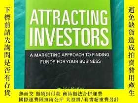 二手書博民逛書店Attracting罕見Investors: A Marketi