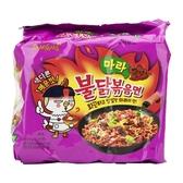 韓國 麻辣雞肉風味鐵板炒麵135gx5(袋裝)【AN SHOP】4倍辣
