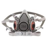 半面具防毒口罩6200透氣防工業粉塵噴漆電焊防護防塵