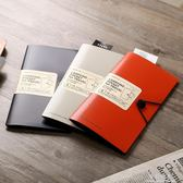 喜利便攜文件夾A4A5護照夾票據收納票夾 完美情人精品館