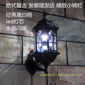 LED鋁髮廊標志燈美髮轉燈箱理髮店轉燈復古羅馬宮燈 igo 智能生活館