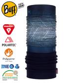 【BUFF 西班牙 Polar 保暖頭巾 Plus 藍灰漸層】120915/圍脖/帽子/口罩/圍巾/快乾透氣