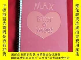 二手書博民逛書店MAX罕見BITTER 4 SWEET 演唱會場刊Y178456