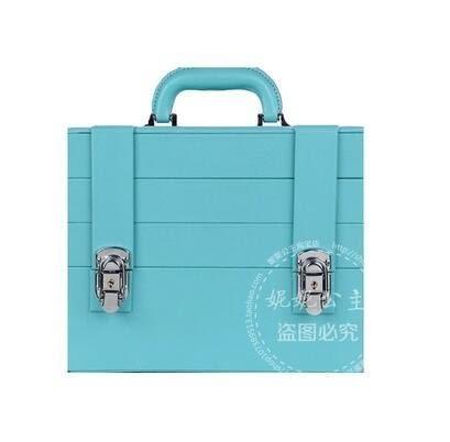 專業化妝箱大號美容美甲工具箱【藍星居家】