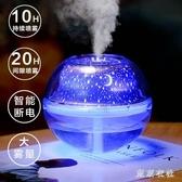 帶夜燈usb加濕器家用靜音臥室小型兩用桌面辦公室空氣保濕化噴霧器LXY7548【東京衣社】