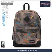 JANSPORT 後背包 43517-0F8 潑濺噴墨 經典校園背包系列   MyBag得意時袋