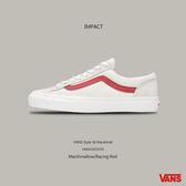 IMPACT VANS Style 36 Old Skool 白 紅 滑板鞋 GD著用款 運動 男女 休閒 VN0A3DZ3OXS