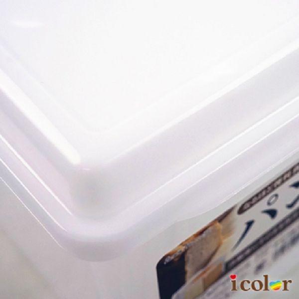 icolor 日本製 麵包3.4L保存容器/保鮮盒