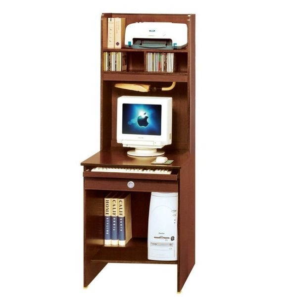 【新北大】✪ G389-2 活力2尺胡桃色電腦書桌組(上+下座) -18購