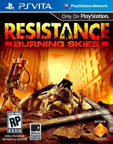 PSV Resistance: Burning Skies 全面對抗:燃燒天際(美版代購)