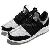 adidas 休閒鞋 Tubular Radial 黑 白 麂皮 運動鞋 女鞋 百搭款【PUMP306】 CQ1410