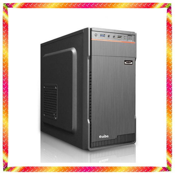 華碩B250M 四核 i3-7100 4GB DDR4+GT730+1TB 電腦主機 下殺