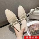 穆勒鞋 2021年夏季新款ins仙女溫柔...