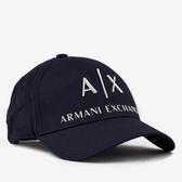 A/X 阿瑪尼縫標標誌深藍色帽子